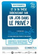 Affiche Challenge Mature your PhD
